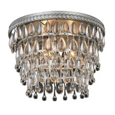 Somette Cloverly Collection Antique Royal Cut Ceiling Light