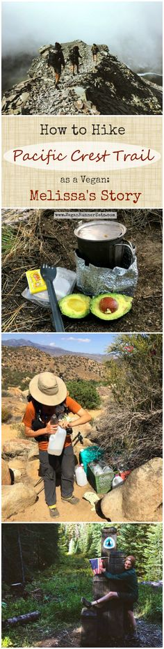 An interview with Melissa J. - an avid vegan hiker who's recently completed a thru hike of the Pacific Crest Trail. Melissa shares her tips for vegan thru hiking, favorite vegan-friendly hiking gear, and what she's learned from the experience.