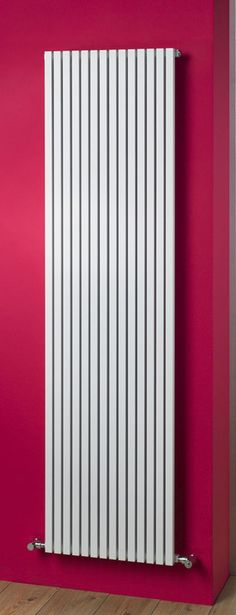 Quad square tube vertical radiator - made of aluminium