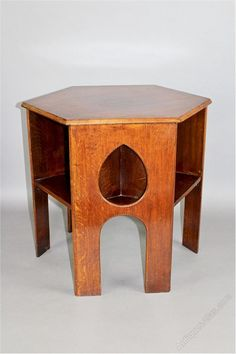 Arts u0026 Crafts Teardrop Book Table - Antiques Atlas & vintage school stools Quite like the idea of old science lab ... islam-shia.org