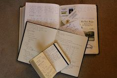 A commonplace book is a scrapbook where the author can record various important … – ThePins Journal Notebook, Journal Diary, Bullet Journal, War Recipe, Moleskine, Medici Masters Of Florence, Commonplace Book, Smash Book, Altered Books