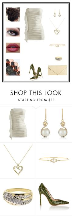 """""""Untitled # 187"""" by binasa87 ❤ liked on Polyvore featuring Wet Seal, Effy Jewelry, Delmar, Jemma Wynne, Diamondsy, Gianvito Rossi and Brooks Brothers"""