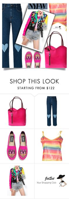 """""""What to Wear to NYFW"""" by samra-bv ❤ liked on Polyvore featuring STELLA McCARTNEY, Kenzo, Daizy Shely and Carbotti"""