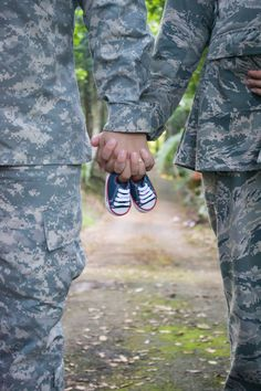 Dual military maternity photography. We can't wait to meet our baby.