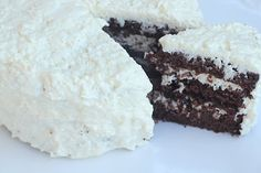German Chocolate Cake-made this and it was good // grain-free, nut-free, uses coconut flour