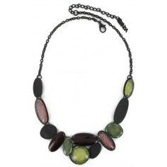 Nouvelle Collection #Noa Les fées papillons - Collier Ayala Vert #bijoux #femme #fantaisie #mode