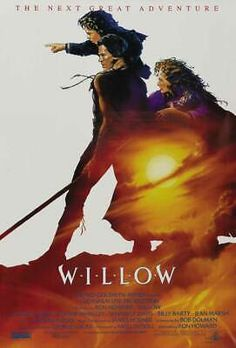 Directed by Ron Howard. With Val Kilmer, Joanne Whalley, Warwick Davis, Jean Marsh. A reluctant dwarf must play a critical role in protecting a special baby from an evil queen. Ron Howard, Willow Movie, Val Kilmer, Joanne Whalley, Warwick Davis, Adventure Film, Fantasy Movies, Fantasy Characters, Movie Posters