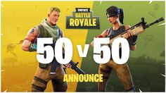 Fornite Battle Royale added a 50vs50 mode. Its damn insanity at the last phases of the match.
