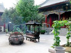 Buddhist Temple in Xi'An China