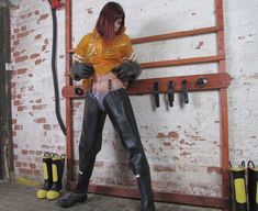 Firefighter Boots, Thigh High Boots Flat, Over The Knee Boot Outfit, Heavy Rubber, Rubber Gloves, Sexy Latex, Rain Wear, Cool Boots, Leather Boots