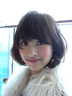 New Japanese Hairstyles with Short Hair for Women