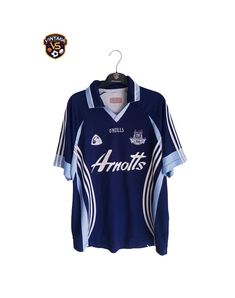 Ath Cliath Dublin GAA Gaelic 2007-2008 O'Neills Goalkeeper Shirt Jersey Vintage Sports Clothing, Goalkeeper Shirts, Football Kits, Dublin, Tops, Fashion, Soccer Kits, Moda, Soccer Equipment