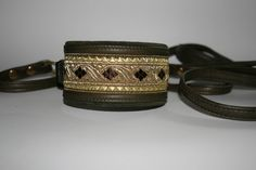Brocade collar handmade by me.
