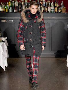 Moschino Uomo Fall/Winter 13-14 fashion show!