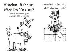 Mrs Jump's class: Reindeer and Reindeer book freebie