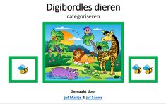 digibordles dieren (categoriseren)