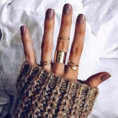 Pour ce post The Trendiest Fall Nail Colors + Fall Nails Inspiration vous naviguez. The Trendiest Fall Nail Colors + Fall Nails Inspiration … Fall Nail Colors, Nail Polish Colors, Warm Colors, Best Nail Colors, Fall Nail Polish, Fall Manicure, Nail Colour, Fall Jewelry, Summer Jewelry