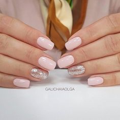 business-casual-nails-squoval-light-pink-glitter Top 50 Best Business Casual Nails 2018 Nail Art Business Casual Nails Source by erincuddington casual nails Pink Wedding Nails, Pink Nails, My Nails, Hair And Nails, Wedding Manicure, Mauve Wedding, Sparkle Wedding, Squoval Acrylic Nails, Summer Acrylic Nails