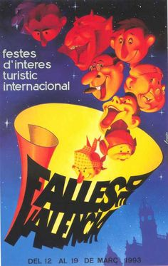 Cartel Fallas Valencia año 1993