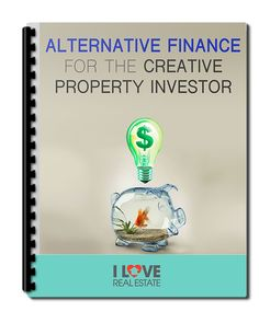 Got no money? Low Income? Bad Credit? Can't get a normal #homeloan? Having Trouble Getting Into #Property #Investing? This report will show you alternative finance for the creative property #investor - [Free Report]