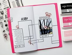 Empowering you to create, learn, and connect. Notebook Doodles, Journal Notebook, Journal Pages, Journal Ideas, Bujo, Filofax, Doodle Diary, Mini Doodle, Diary Planner