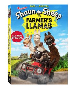 Shaun the Sheep: The Farmer's Llamas DVD Review & Giveaway Open to US only