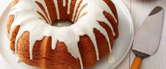 Make this easy delicious pumpkin cake for a fall gathering.