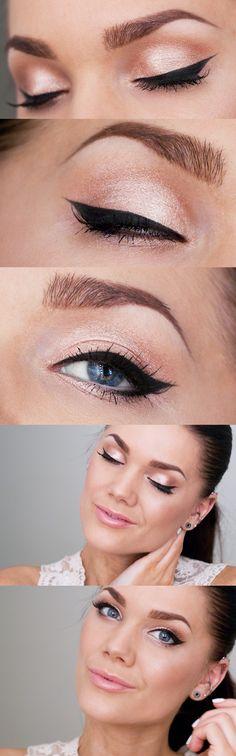Pretty eye makeup #Internationalprom #IPA #beauty #eyemakeup