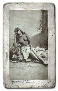 Geronimo's wife? - No name - No date.