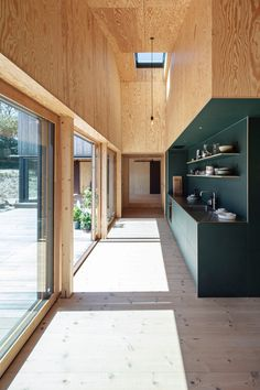 Plywood Interior, Van Interior, Wooden Architecture, Interior Architecture, Space Interiors, Wooden House, Interior Design Inspiration, Interior Decorating, New Homes
