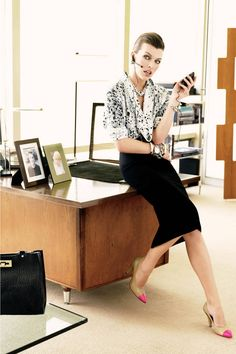 15 rules for dressing for a fashion job and looking stylish in the office: Trajes Business Casual, Business Casual Outfits, Business Attire, Office Outfits, Business Fashion, Work Outfits, Business Clothes, Office Attire, Business Women