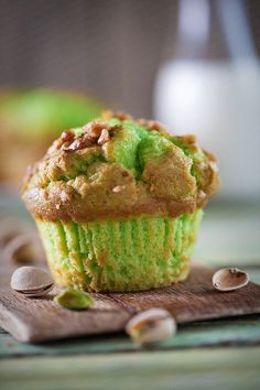 Pistachio Muffin. These are DELICIOUS!