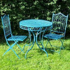 willow green metal vintage style 2 seater bistro patio garden