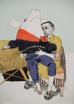"Paula Rego ""Prince Pig's Courtship"" 2006 Coloured lithograph"