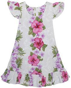 Hawaiian dress.
