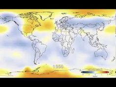 Watch 131 Years of Global Warming in 26 Seconds En 25 segundos el mejor argumento de por qué debes preocuparte sobre el calentamiento global
