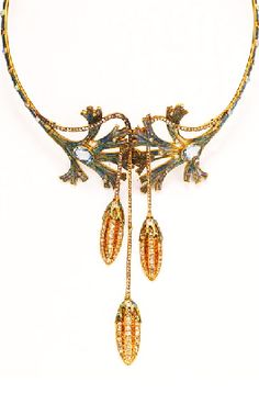 Collar by GEORGES FOUQUET. C. 1905