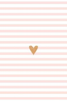 Heart & Stripes background