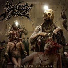 Sadistic Butchering - Sculptor of flesh album cover