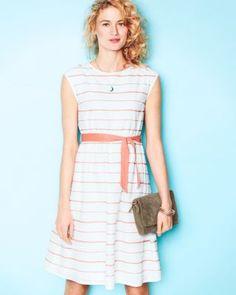 Retro Voile Dress, cotton, Garnet Hill $128