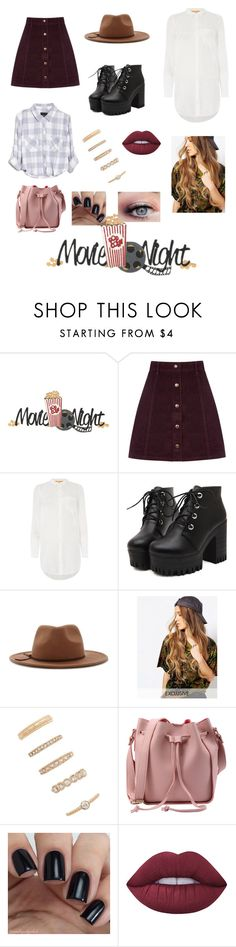 """""""Untitled #94"""" by heresnana on Polyvore featuring Oasis, HUGO, rian, Forever 21, Reclaimed Vintage and Lime Crime"""