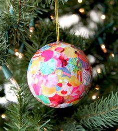 χριστουγεννιάτικα στολίδια ντεκουπάζ - Αναζήτηση Google