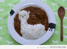 I definitely don't like curry, but I don't know if I like Alpacas...I couldn't resist!