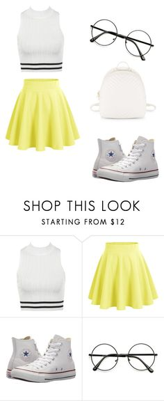 """mall outfit"" by alyssa-tito on Polyvore featuring Converse and Steve Madden"