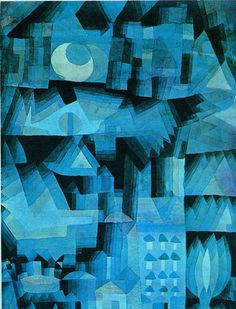 Paul Klee's work was often inspired by music. He spoke of using the elements of art... line, shape, color, etc... in an abstract manner akin to music. Klee's two favorite composers were Mozart and J.S. Bach. This piece echoes the repetitious architectural theme and variations of Bach's music.