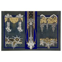 Art Deco Textile Designs