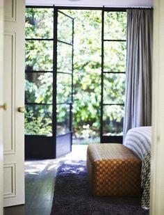 Lovely light filtering through those delightful doors…