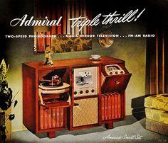 1948 Admiral - America's smart set!