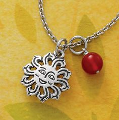 Celebrate Summer with our Sunbeam Charm from James Avery Jewelry