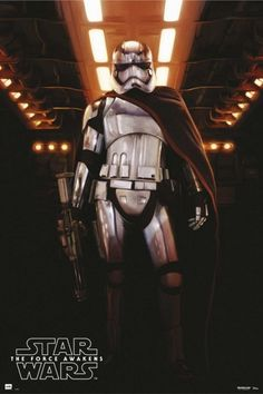 star wars force awakens captain phasma poster Star Wars 7 Gets More Promo Images & Early UK Release Date